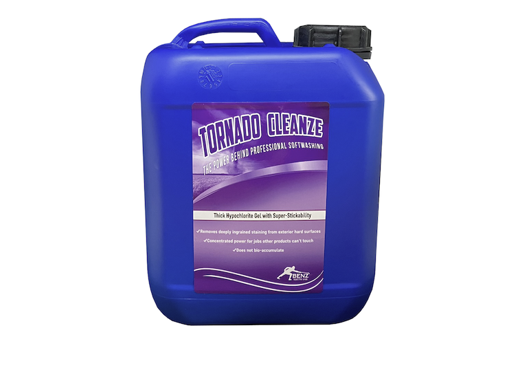 TORNADO CLEANZE – Super-sticky gel cleaner with oxidation boost