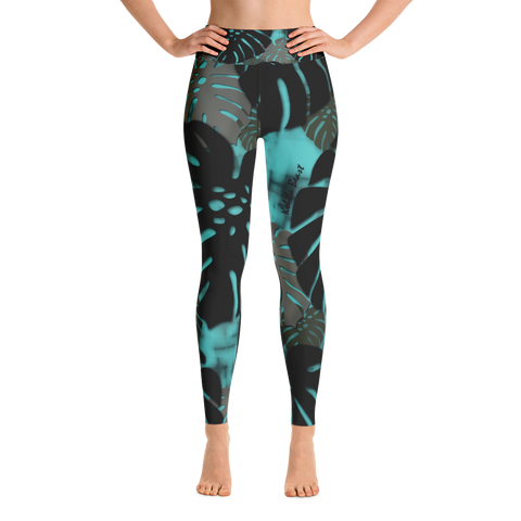 Monstera X Wai High Waisted Leggings