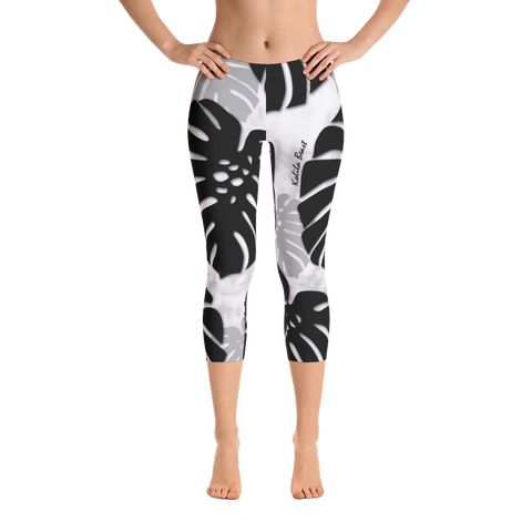 Monstera X Makani Capri Leggings