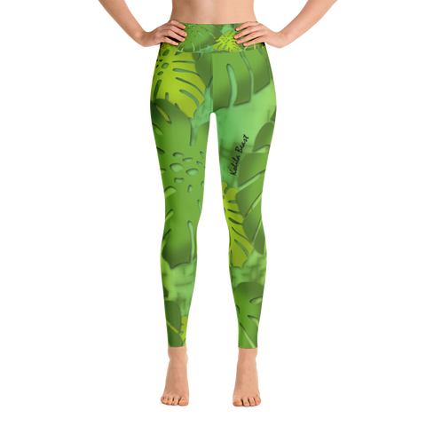 Monstera X Honua Yoga Leggings