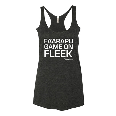 Fa'arapu Game on Fleek - Women's Tank Top - Vintage Black