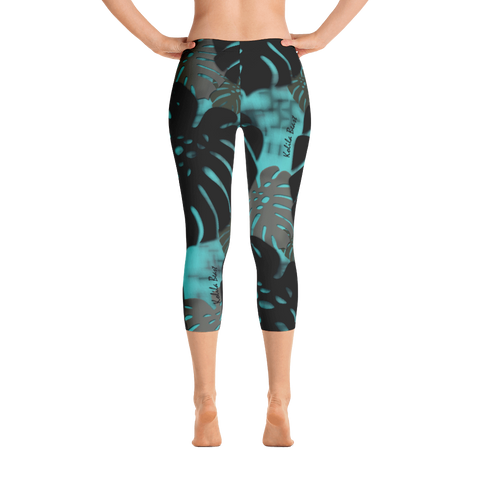 Monstera X Wai Capri Leggings