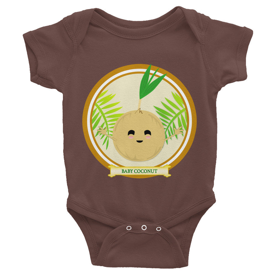 Baby Coconut Infant Short-sleeve One Piece