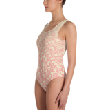 Tatau One-Piece Swimsuit - Coral