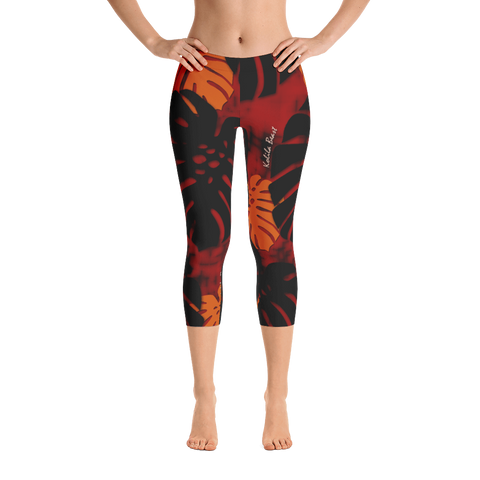 Monstera X Ahi Capri Leggings