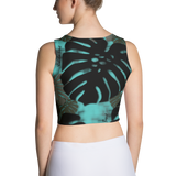 Monstera X Wai Poly/Spandex Crop Top
