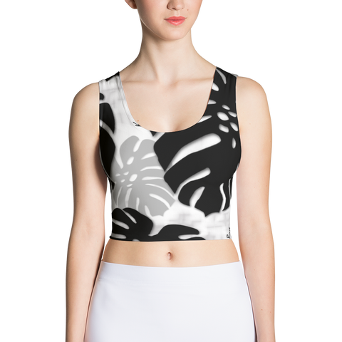 Monstera X Makani Poly/Spandex Crop Top