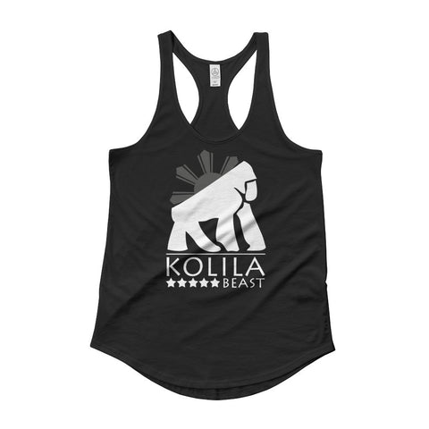 Kolila Beast Classic - Ladies Black Shirttail Tank