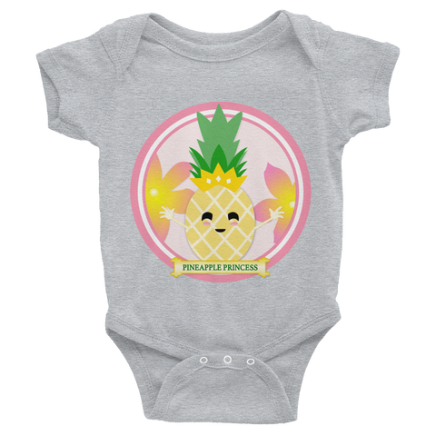 Pineapple Princess Bodysuit