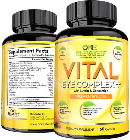 Vital Eye Complex + Premium Eye Care Supplement