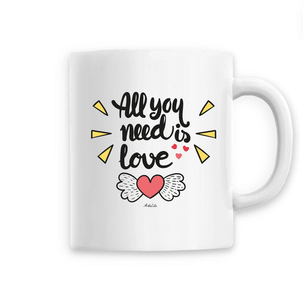 Mug - All you need is love - Céramique Premium