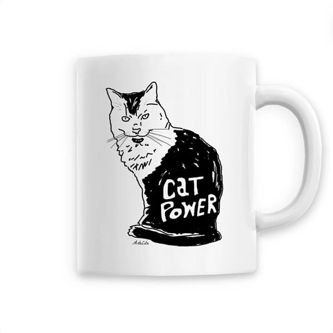 Mug - Cat Power - Céramique Premium