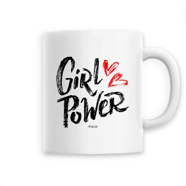 Mug - Girl Power Love - Céramique Premium
