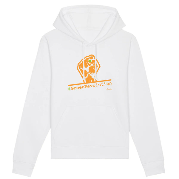 Sweat à capuche - #GreenRevolution - Unisexe - Coton Bio - 5 Coloris