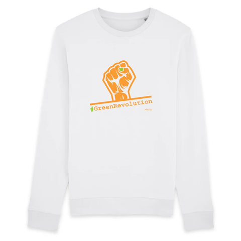 Sweat - #GreenRevolution - Unisexe - Coton Bio - 3 Coloris