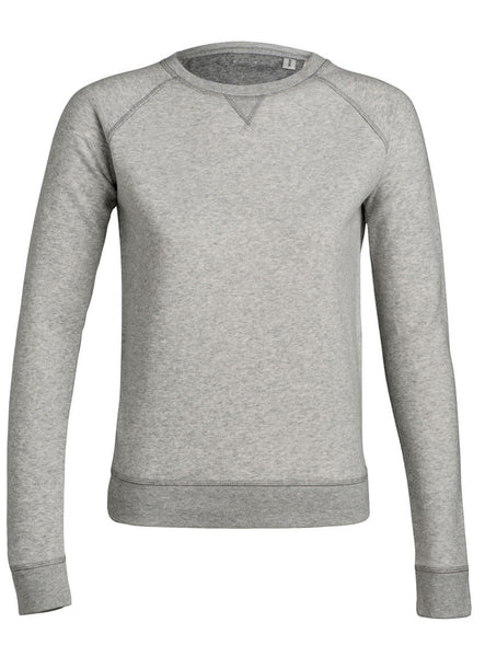 Sweat Uni Bio Femme / Organic Plain Sweater Women - Trip - 9 Coloris - ArteCita Positive Lifestyle Mode Bio et Objets de déco