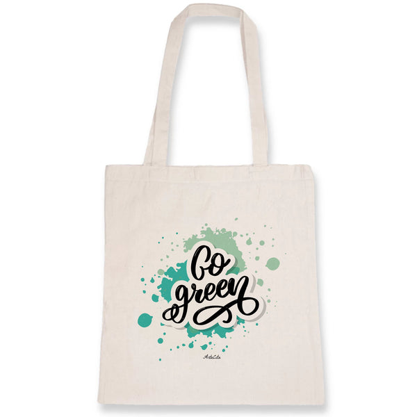 Tote Bag - Go Green - Coton Bio