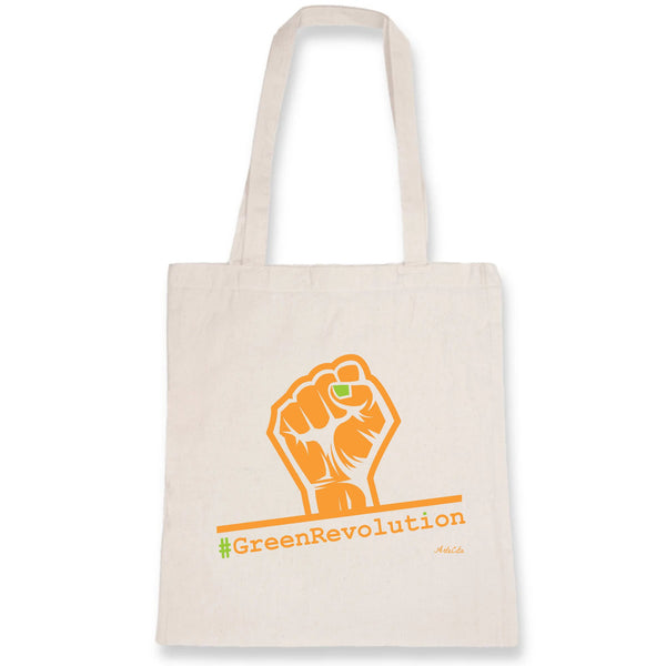 Tote Bag - #GreenRevolution - Coton Bio