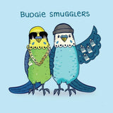 Greeting Card Budgie Smugglers