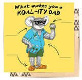Greeting Card Koality Dad