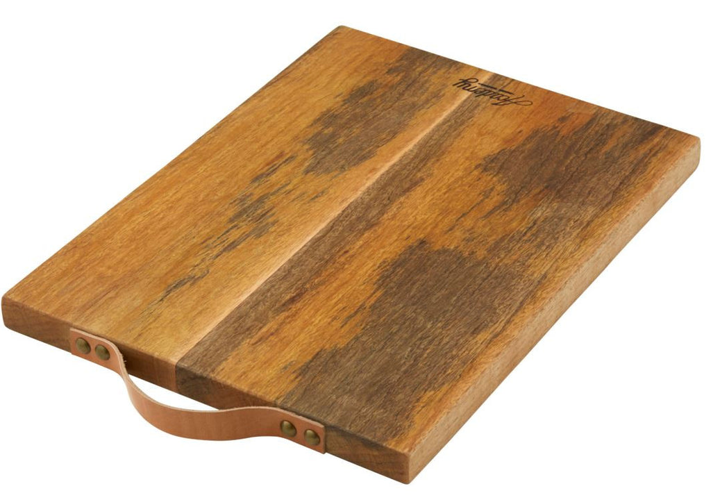 Academy Eliot Chopping Board with Leather Handle