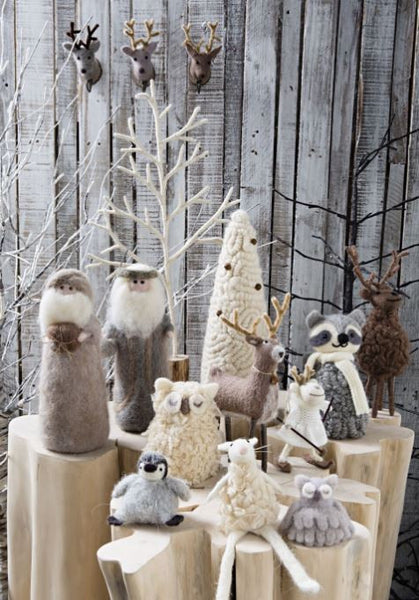 Furry Friends Stand Twiggy Tree 52cm