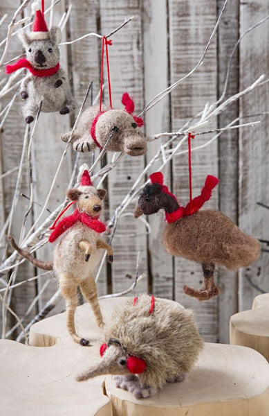 Furry Friends Hang Emu 14cm