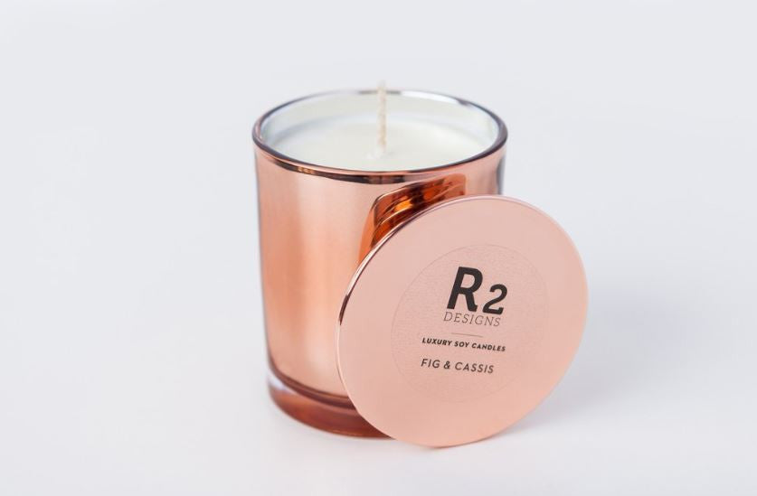 R2 Copper Candle Fig & Cassis