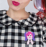 Bubblegum Pop Princess Brooch