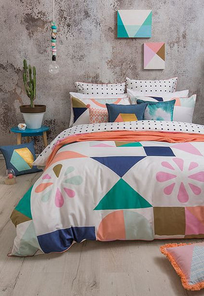Kb Quilt Cover Set Memphis
