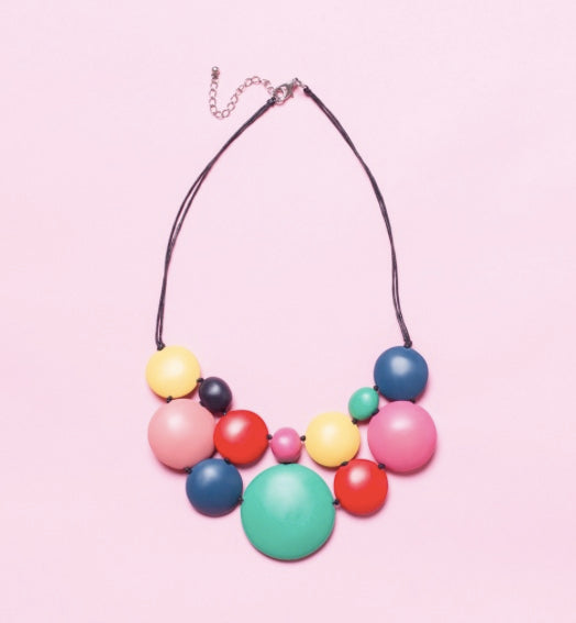 Carousel Bubblegum Necklace