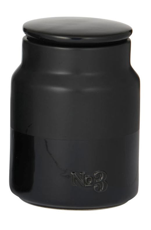 Academy Austen Canister No.3 Black