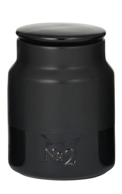 Academy Austen Canister No.2 Black