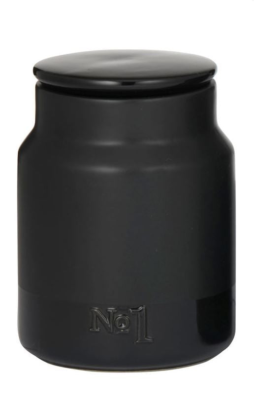 Academy Austen Canister No.1 Black