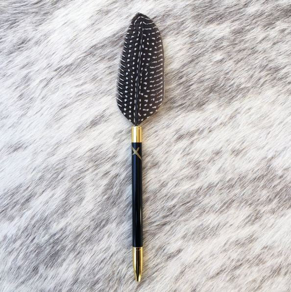 Phoenix Feather Pen Speckled