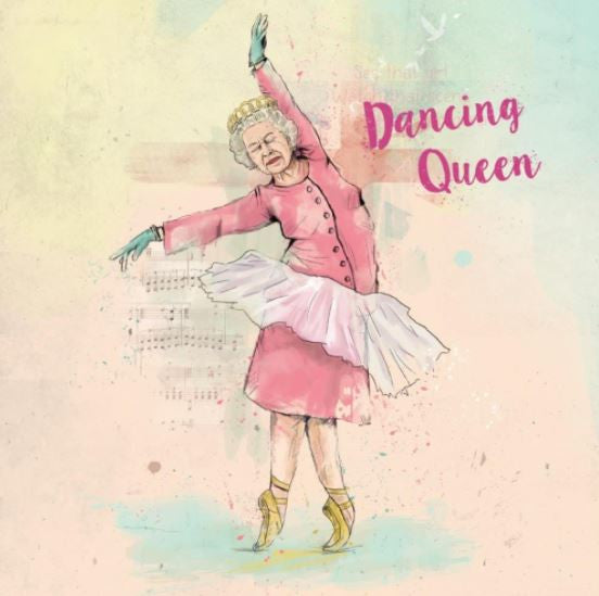 Greeting Card Dancing Queen
