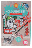 Tige Tribe Travel Colouring Set - Street Art