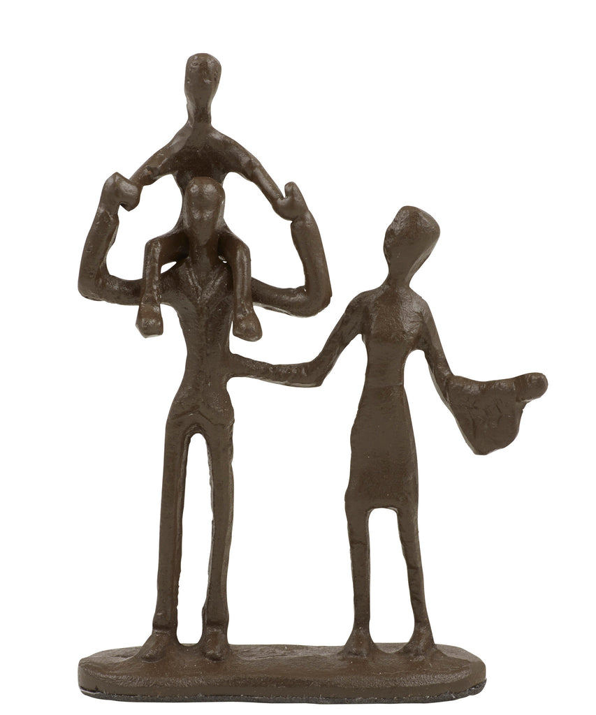 Happy Family Sculpture