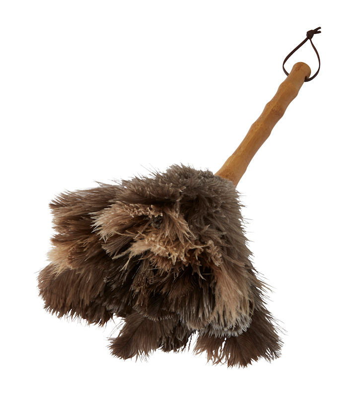 Earth Ostrich Feather Duster 40cm