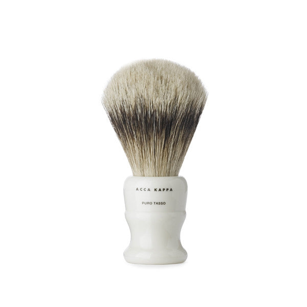 Acca kappa Shaving Brush - Ivory & Badger Hair