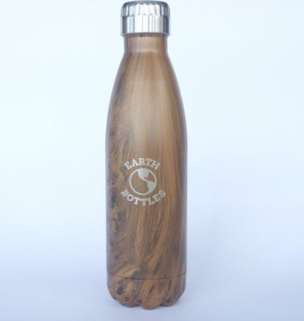 Earth Bottle Pale Timber 500ml