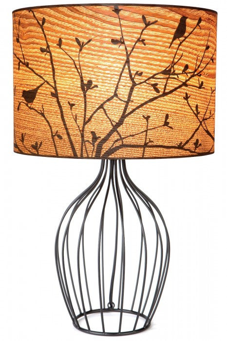 Twitter Wire Base Table Lamp
