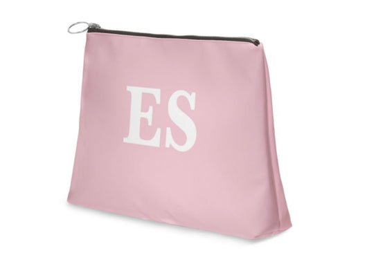 Superior Personalised Luxury Nappa Leather Clutch Bag Pink