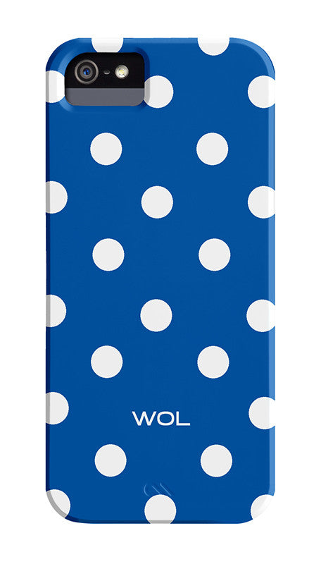 Blue with White Spots Cover