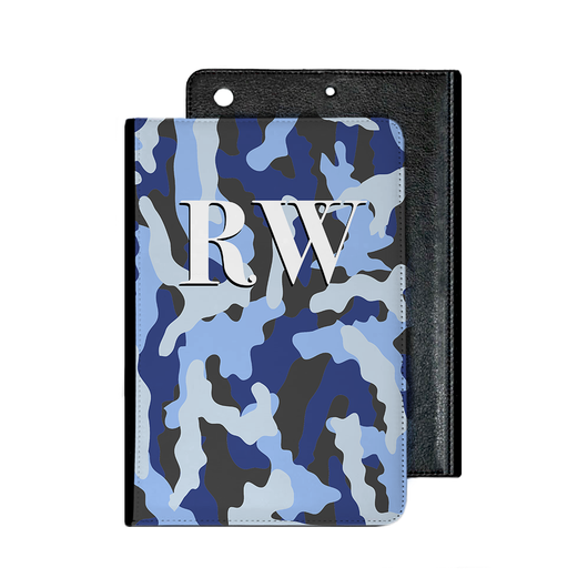 Camouflage Blue IPad Case