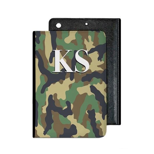 Camouflage Green IPad Case