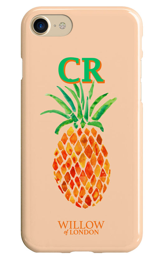 Gloss Peach Painted Pineapple