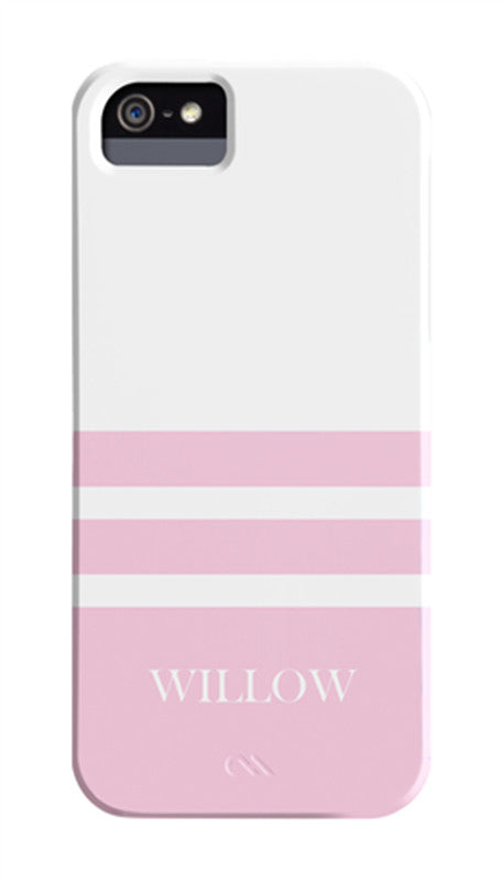 Pink Striped Cover