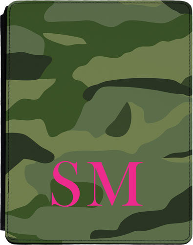 Camouflage Initials Lower Pink