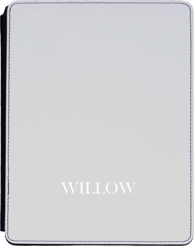 Slate Grey Initial Lower Ipad cover